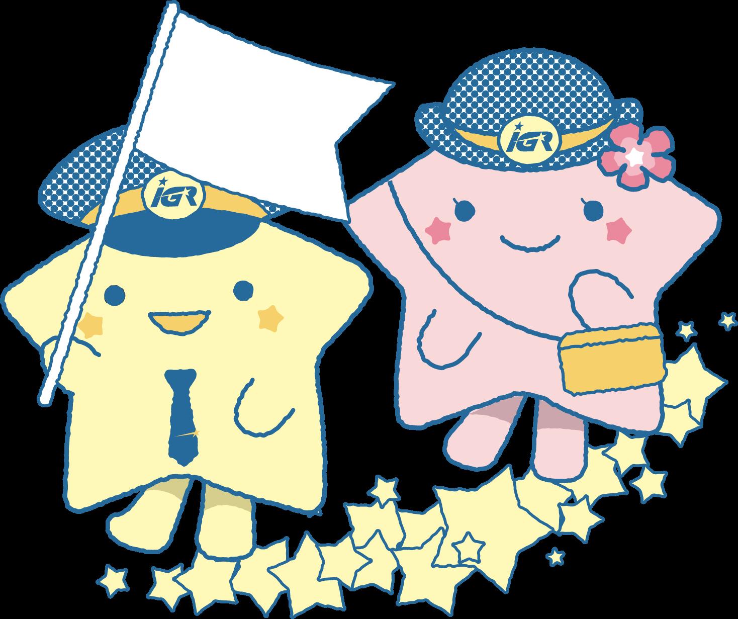 星旅のキャラクターイラスト